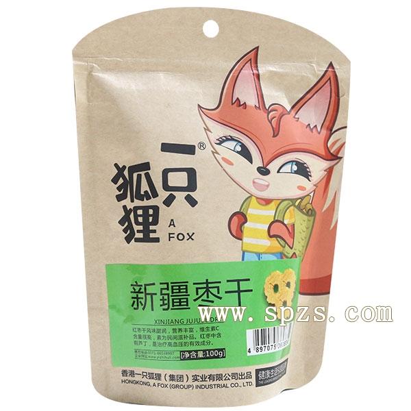 一只(zhi)狐狸膨(peng)化食(shi)品