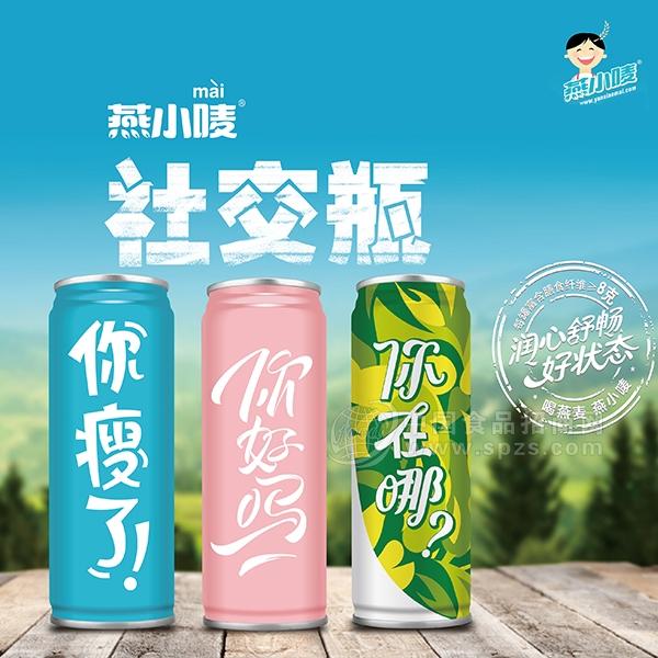 燕小唛植物蛋白饮料