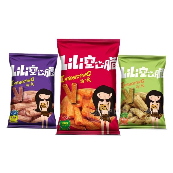 Li Li空心脆膨化食品