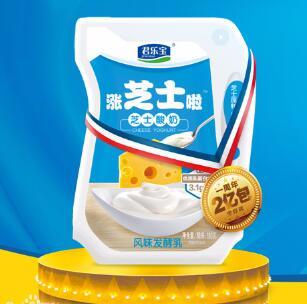 涨芝士酸奶